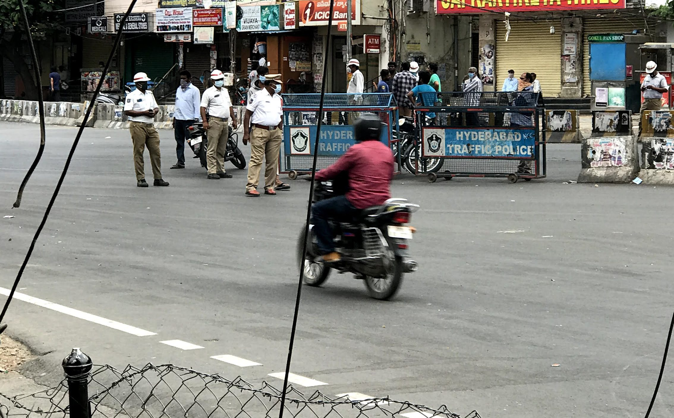 Gone Out During the Lockdown in Hyderabad? Know about Lockdown Traffic Violation Challans