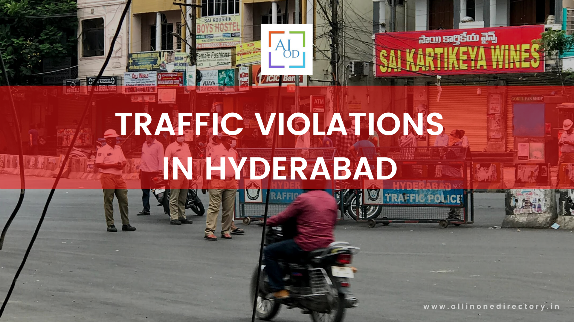 Know Hyderabad Traffic Rules, Violations & Fines – How to Check E-Challan in Hyderabad